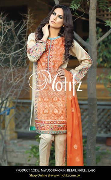 Trends Of Knee Length Shirts 2016 In Pakistan0011