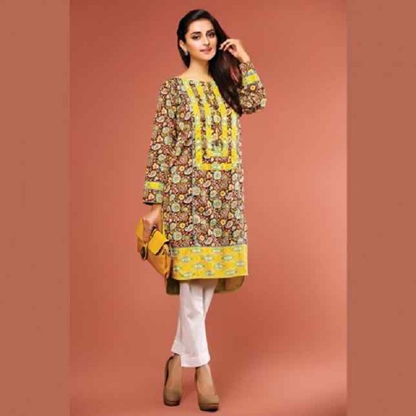Trends Of Knee Length Shirts 2016 In Pakistan004