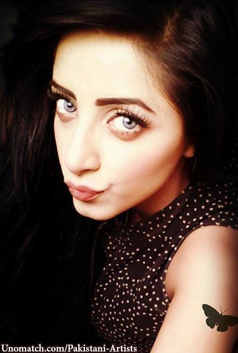 Unseen  Sanam Chaudhry Selfie Photoshoot- butterfly