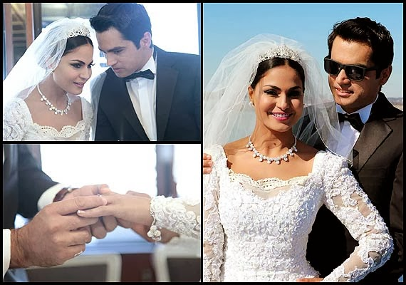 Veena Malik's White Wedding dress (8)