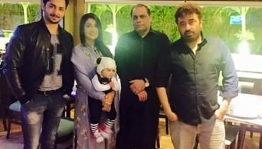 See Yasir Nawaz arranged Birthday dinner for Ayeza Khan
