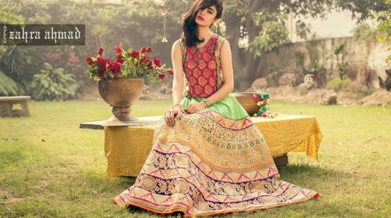 8a7bafb2d Zahra Ahmad Part Dresses 2016 For Girls and Women - Style.Pk