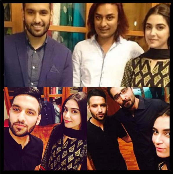 on the set of maan mayal