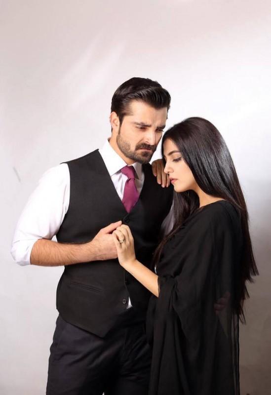 on the set of new Drama Maan Mayal- both