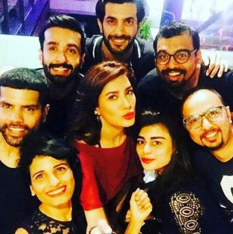 pakistani celebrities new year 2016