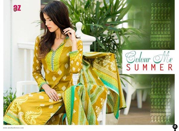 Al Zohaib Textile Lawn dresses 2016 For Women0011