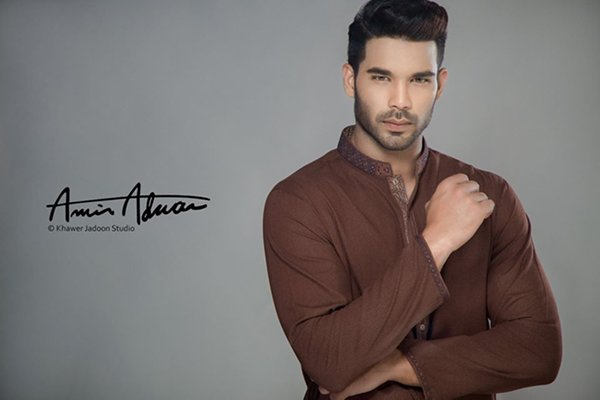 Amir Adnan Summer Kurtas 2016 For Men001