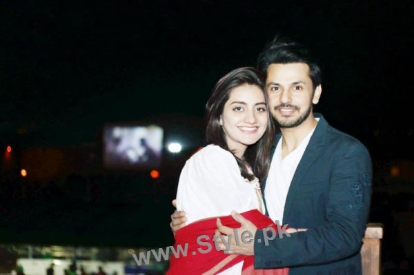Bilal Qureshi and Uroosa Qureshi Celebrating 1st Wedding Anniversary (2)