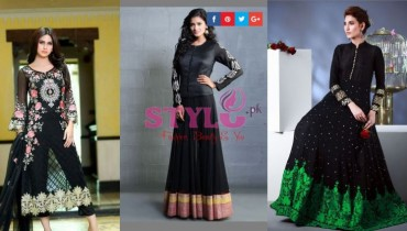 Black party wear dresses Images