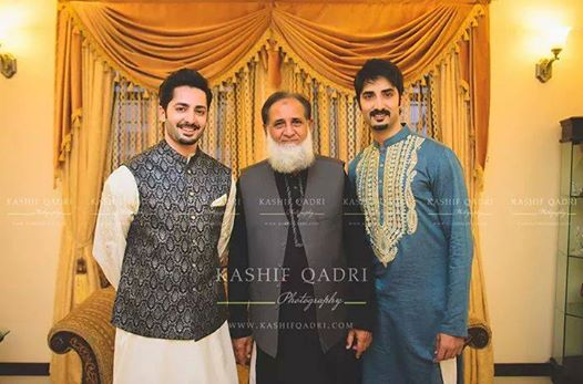 Danish Taimoor father