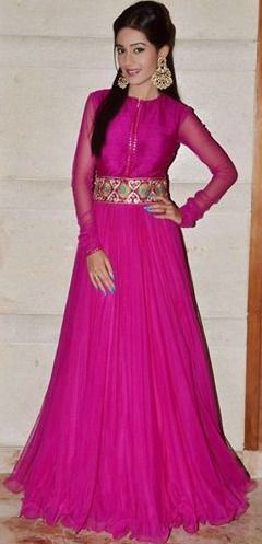 Elegant Frock style - pink