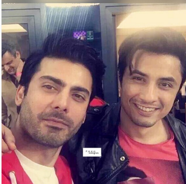 Exciting Selfies of Fawad Khan with Ali Zafar at PSL. two