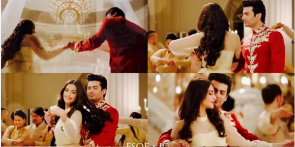 Fawad Khan Romance With Soman Kapoor in Tanrang Ad 4