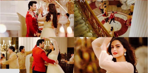 Fawad Khan Romance With Soman Kapoor in Tanrang Ad.sonam