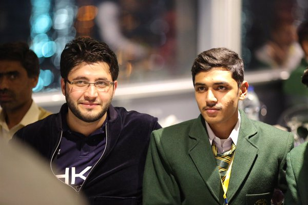 Javed Afridi with APS zalmi on the great win