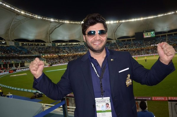 Javed Afridi with APS zalmi on the great win. feature