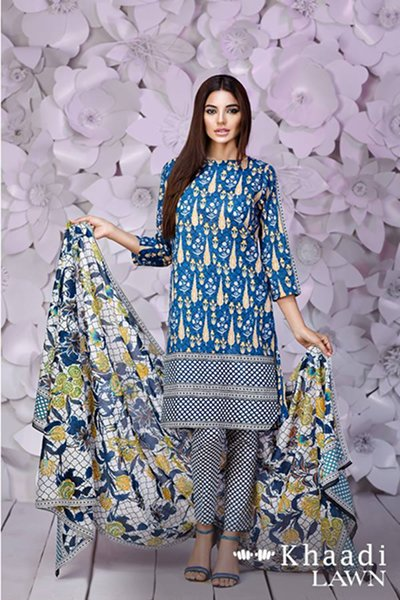 Khaadi Lawn Dresses 2016 For Women002