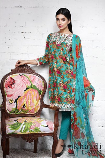 Khaadi Lawn Dresses 2016 For Women03