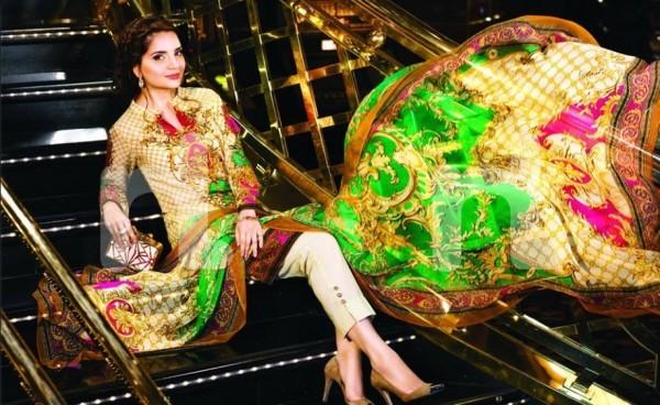 See Latest clicks of Armeena Rana Khan for Nishat Linen