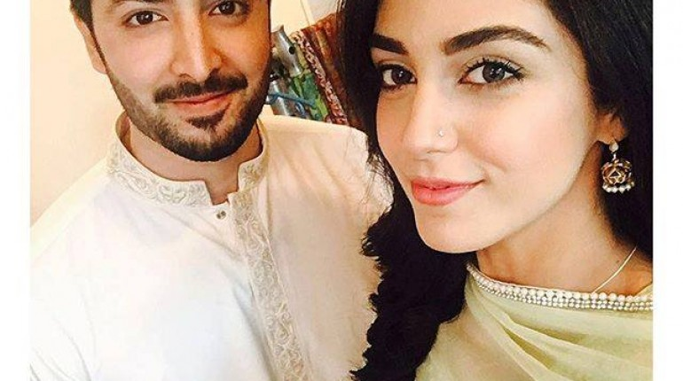 See Maya Ali and Danish Taimoor are appearing together on screen