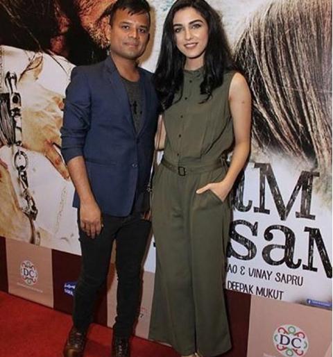 Maya Ali at the premiere of Sanam Teri Qasam. 2