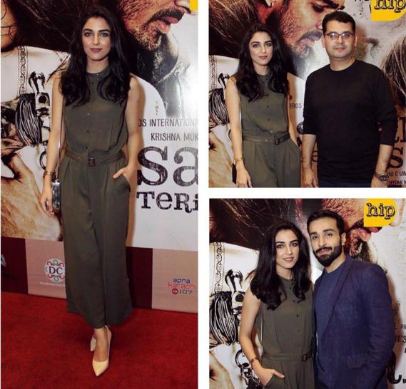 Maya Ali at the premiere of Sanam Teri Qasam. 3