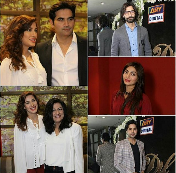 Mewish Hayat and Humayun Saeed at the launch of  Dillagi.single.6