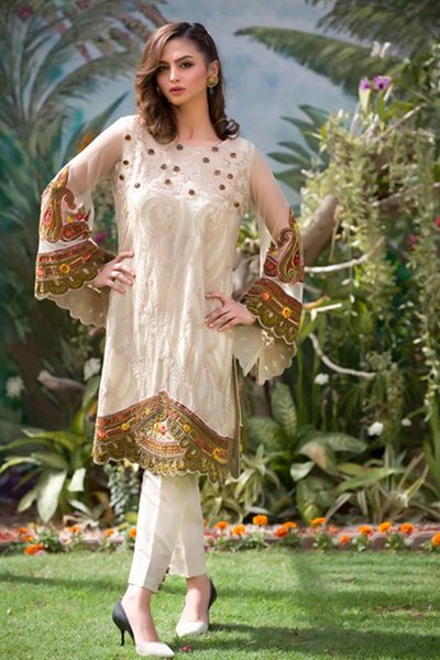 Nadia Farooqui Summer Dresses 2016 For Women001