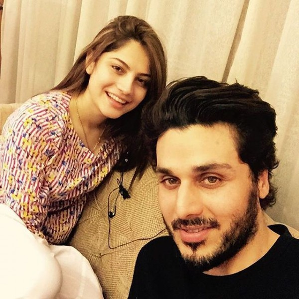 Neelam Muneer and Ahsan Khan
