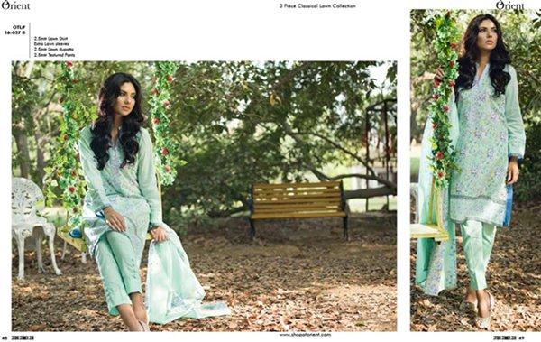 Orient Textiles Summer Dresses 2016 For Women003