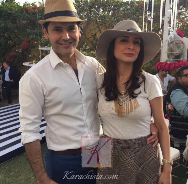 Pakistani Celebrities at Valentine day Party in Karachi.iman.sarwat