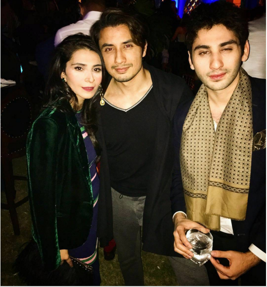 Pakistani Celebrities at Valentine day Party in Karachi