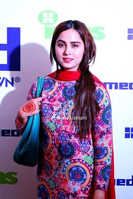 Pakistani Celebrities at the Launch of Gul Ahmed (5)