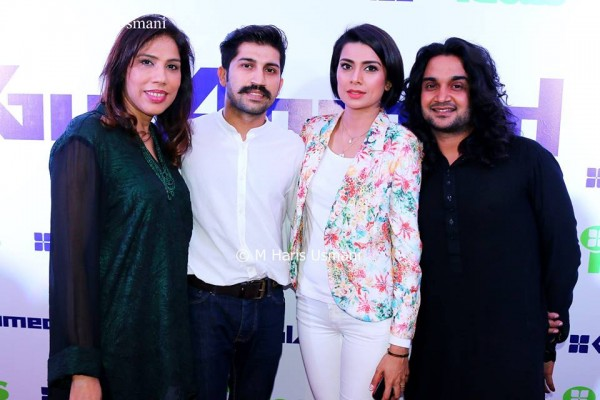 Pakistani Celebrities at the Launch of Gul Ahmed (7)