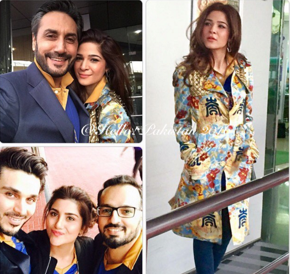 Pakistani Celebrities in Dubai to support Karachi Kings..3