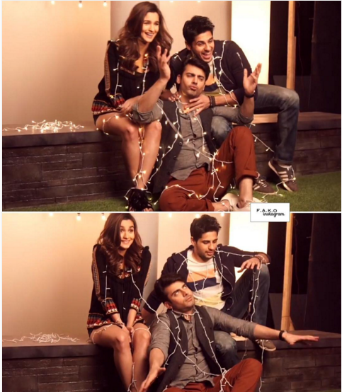 Photoshoot Of Fawad Khan for Kapoor and Sons Poster.cute