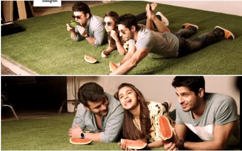 Photoshoot of Fawad Khan for kapoor and sons Poster. 2
