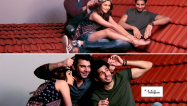Photoshoot of Fawad Khan for kapoor and sons Poster