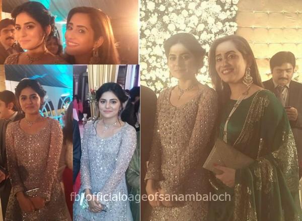 Sanam Baloch at her Brother's Wedding (12)