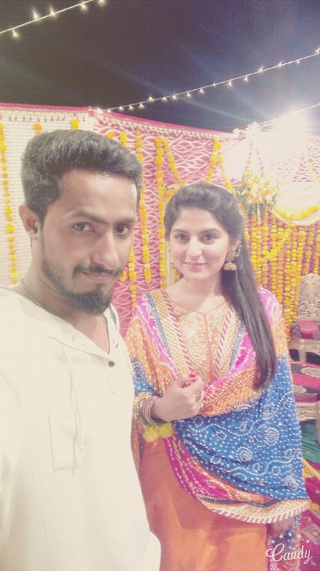 Sanam Baloch at her Brother's Wedding (4)