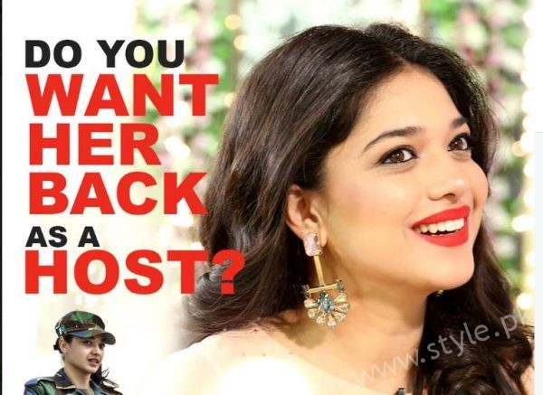 Sanam Jung Joining Back Jago Pakistan Jago