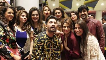 Sanam Teri Kasam Karachi premiere