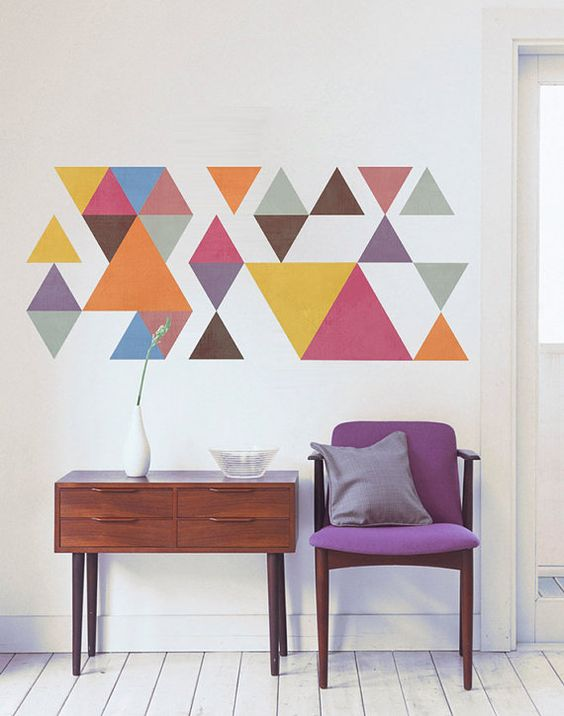 Stylish Wall Decorating Ideas. .colors