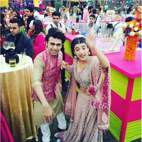 Urwa and Farhan Saeed at Best Friends Wedding in India