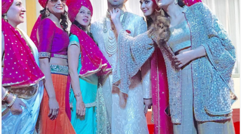 Urwa and Farhan Saeed at Best Friend's Wedding in India