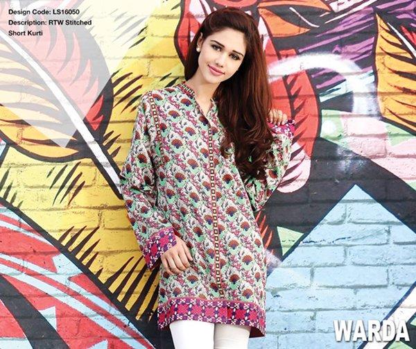 Warda Designer Summer Dresses 2016 Volume 1 For Women004