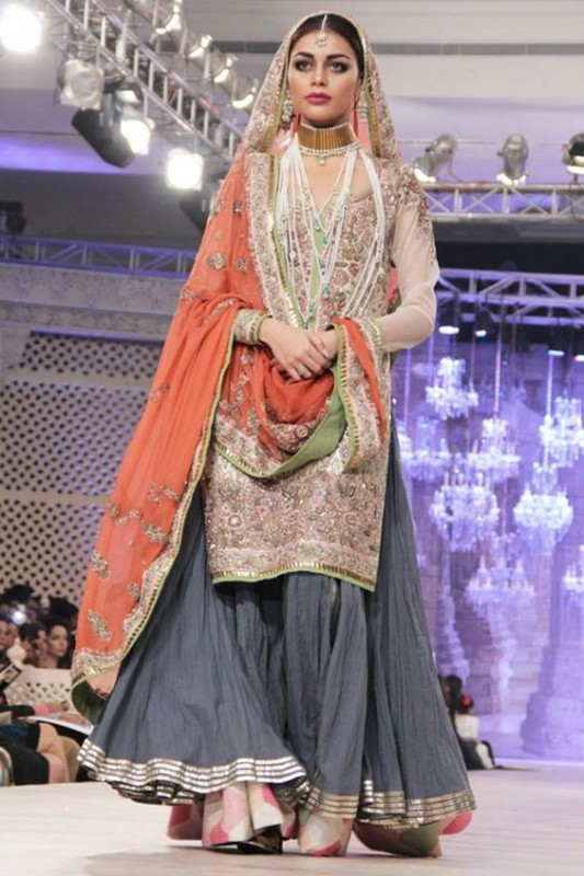 Bridal Sharara Designs 2017