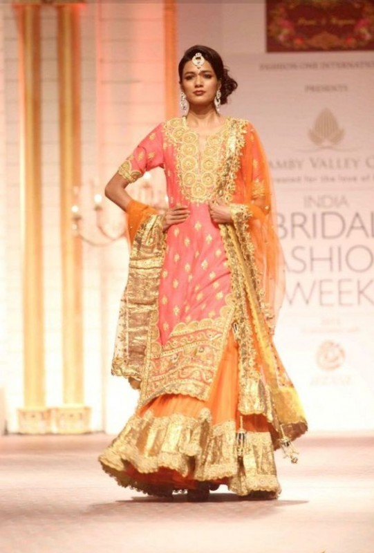 Light bridal Sharara Designs 2017