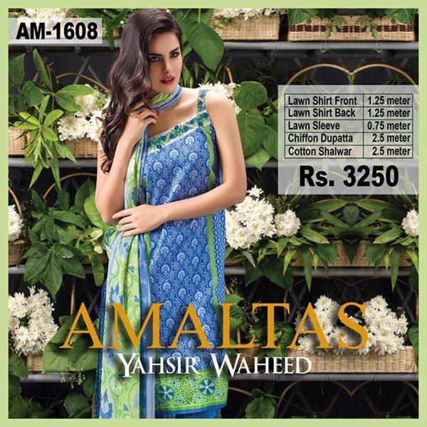 Yahsir Waheed Summer Dresses 2016 For Women003