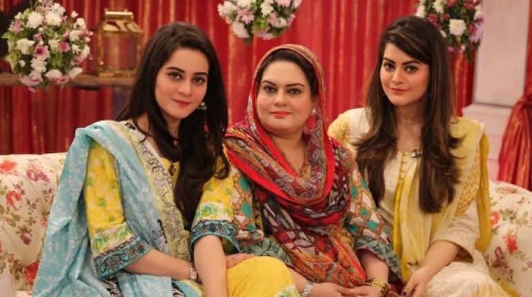 aiman khan minal khan mother